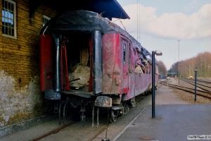 DSB B 534. Sorø 25.04.1988.