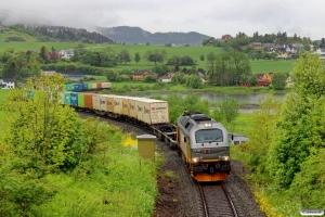 CN 312 001 med Gt 5795 (Trondheim S-Bodø). Ranheim - Sjølyst 11.06.2015.