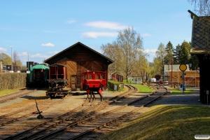 NSB 206-041 på Jernbanemuseet. Hamar 07.05.2016.