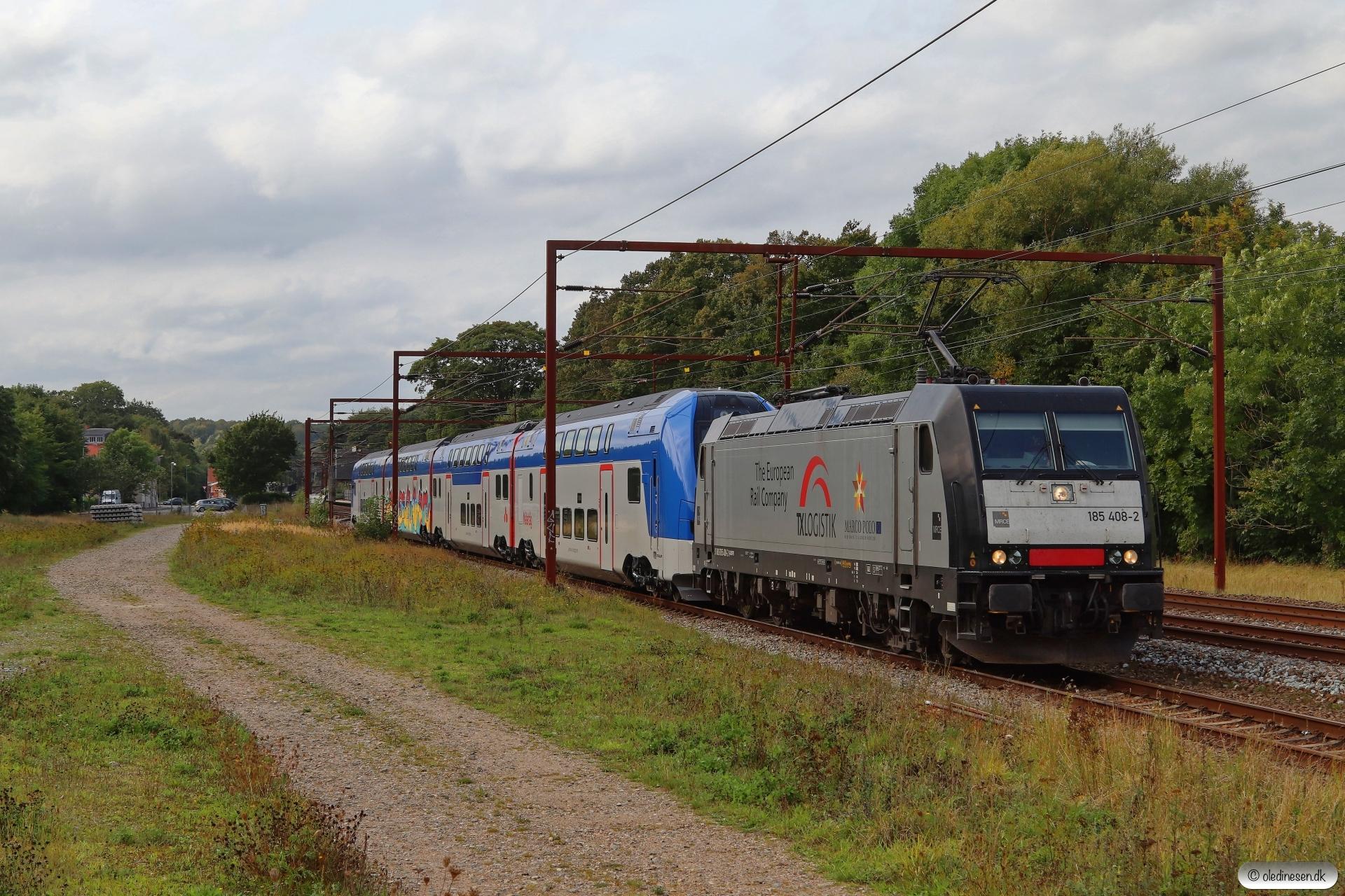 TXL 185 408-2+ABTR ER1 027 som TG 44592 Pa-Mgb. Årup 11.09.2020.