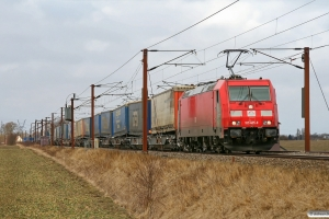 TXL 185 405-8 med TG 39398 Pa-Mgb. Marslev 10.03.2013.