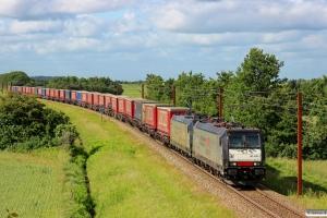 TXL 185 408-2+185 407-4 med TG 39629 Mgb-Pa. Km 54,4 Fa (Sommersted-Vojens) 29.06.2013.