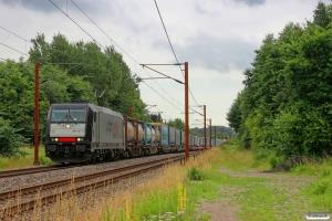 TXL 185 407-4 med TG 67159 Mgb-Pa. Km 26,6 Fa (Kolding-Lunderskov) 06.07.2014.