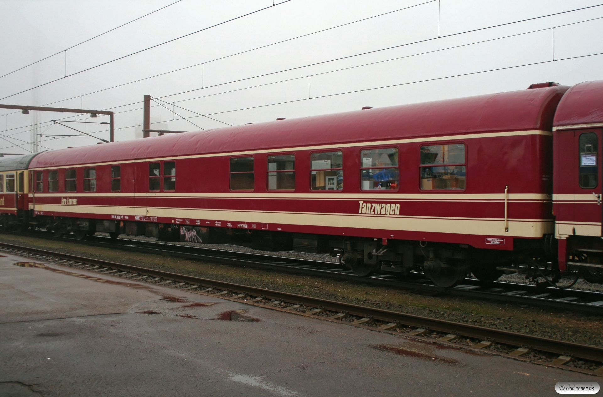 EURO WGmh 50 80 09-80 008-9 i M 13262/IP 13295 (Alpe-Toget). Padborg 11.01.2008.