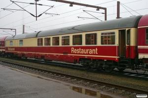 EURO WRmh035.7 61 80 08-90 001-0 i M 13262/IP 13295 (Alpe-Toget). Padborg 11.01.2008.
