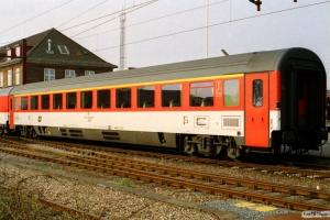 ČD Ampz 73 54 10-91 007-0 i EC 175. Padborg 25.04.2003.