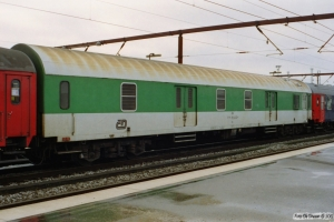 ČD Ds 51 54 95-40 027-4 i IP 13284 (Skiløberen). Odense 06.01.2002.