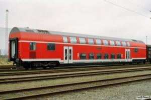 DB DBpz752 50 80 26-35 323-7 (brugt til opmålingskørsel på Sjælland). Padborg 09.02.2002.