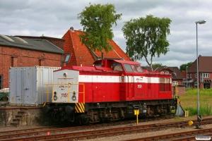 CFLDE 1151 (ex. DR 110 242). Niebüll NEG 26.06.2010.