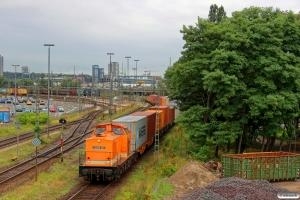LOCON 203 (ex. DR 110 373). Hamburg-Waltershof 08.08.2013.