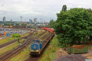 EVB V 1202 (ex. DR 110 630). Hamburg-Waltershof 08.08.2013.