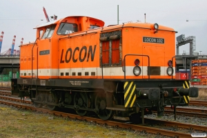 LOCON 102 (LEW 12233). Hamburg-Waltershof 28.03.2009.