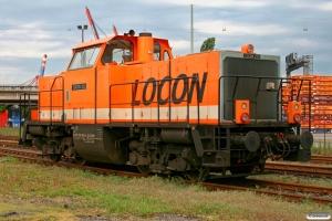 LOCON 213 (ex. DB 212 066). Hamburg-Waltershof 08.05.2009.