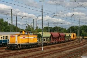 Wiebe Lok 4 (ex. DB 212 107). Flensburg 28.07.2012.