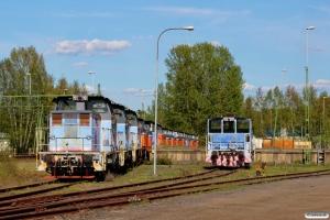 NRFAB V5 165 m.fl. hensat og TAB Z68 656. Jönköping 08.05.2016.