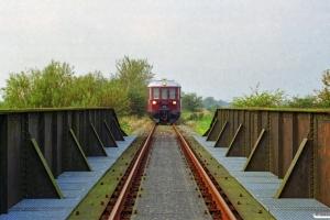 DSB MO 1848. Km 67,8 Bm (grænsen mellem Danmark og Tyskland) 26.09.1998.