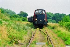 DSB MT 152 med Rangertræk Tp-Ac. Assens 07.08.1999.