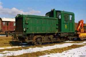 DSB Traktor 119. Bramming 11.03.2006.