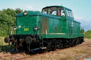 DSB MT 152. Grindsted 22.06.2008.