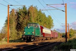 DSB MT 152+Buh 704+BHL 401+CLE 1672 som VP 161617 Mv-Od. Km 155,4 Kh (Marslev-Odense) 26.09.2015.