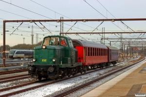 DSB MT 152+B 314+CLE 1672 som VM 136132 Tl-Od. Odense 17.01.2017.