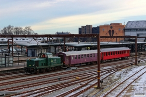 DSB MT 152+CLE 1672+B 314. Odense 17.01.2017.