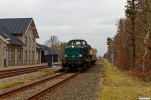 DSB MT 152+Buh 704+Uis 40 86 949 9 001-6 som VM 221006 Str-Es. Ulfborg 17.02.2019.