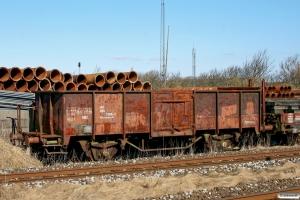VLTJ Vogn 6 (ex. 40 86 945 1 206-7). Lemvig 14.03.2013.