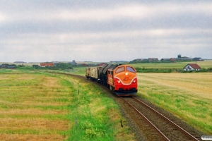 VLTJ MX 26 med G 973 Lmv-Thb. Strande - Victoria Street Station 26.07.1996.