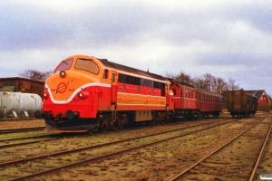 VLTJ MX 26+SB M 4+Bg 005 som PX 8254 Bb-Vem. Brande 08.02.1997.