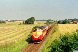 VLTJ MX 26 med PG 7736 Sk-Vem. Km 192,6 Lk (Holstebro-Hjerm) 29.07.2002.