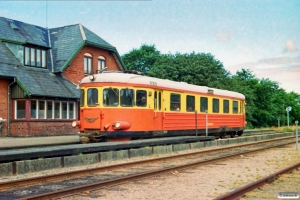 VNJ MB 51 med Tog ? Nbl-Va. Oksbøl 16.07.1983.