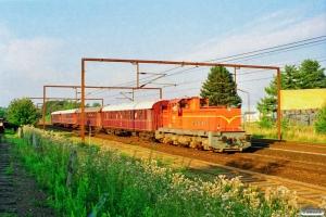 VNJ DL 14+AU 253+CL 1589+CL 1630+CLE 1672 som MX 6310 Bm-Od. Odense 10.08.1997.