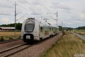 SJ X40 3314 som RST 10740. Enköping - Lundby 29.08.2011.