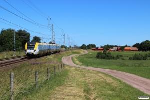 X50 3296 som RST 7233. Stenstorp - Falköping 23.06.2018.