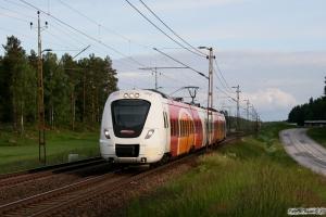 X61 203 som RST 8786. Boxholm - Mjölby 07.06.2012.