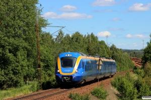 Norrtåg X62 006 som RST 7508. Töva - Vattjom 20.06.2018.