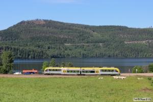 Y31 1415 som RST 8947. Ivarsbjörke - Lysvik 10.06.2014.