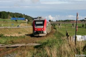 Y31 1424 som RST 8656. Gamleby - Överum 13.09.2010.