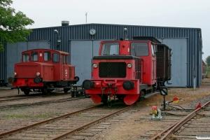 Sydtåg 1 (ex. Z43 469) og SJ Z49 126. Kristianstad 11.09.2010.