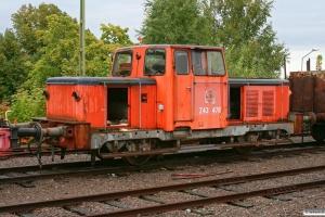 SJ Z43 478. Västervik 13.09.2010.