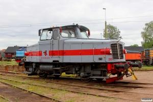 TÅGAB Z65 202 (ex. Z65 552). Kristinehamn 11.06.2014.