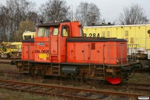 BV DAL 0626B (ex. Z67 626). Hässleholm 13.04.2009.
