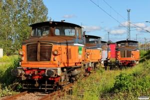 GC Z70 726, Z70 736, Z70 750, Z70 701 og Z70 714. Eskilstuna 07.06.2015.